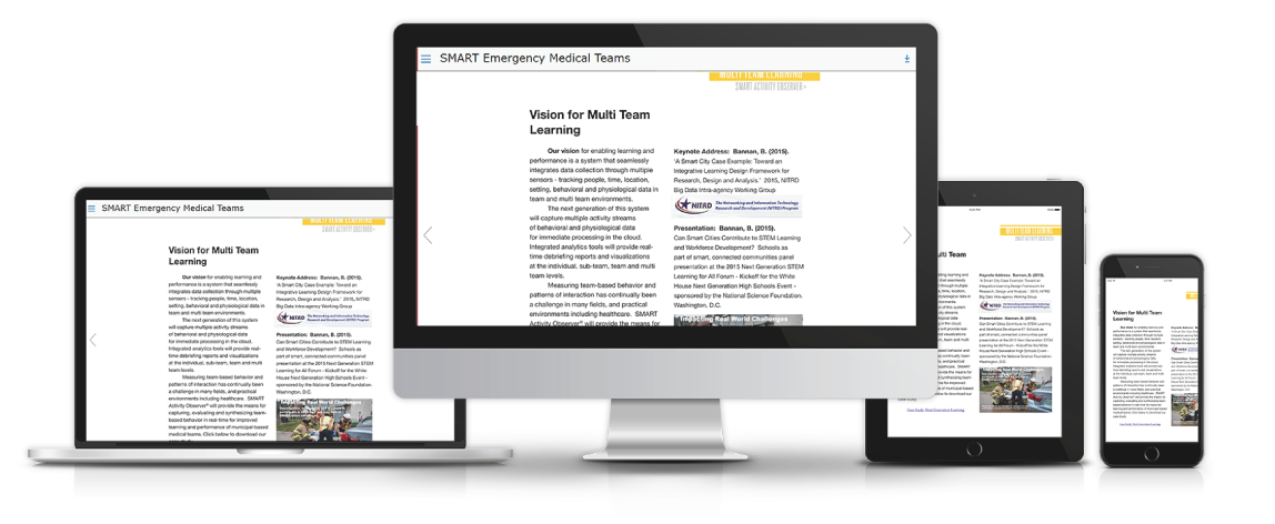interactive training solutions devices